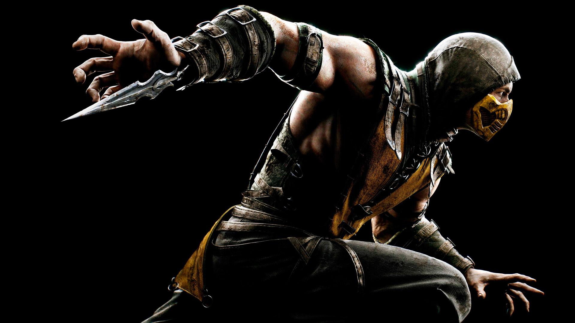 Scorpion Mortal Kombat X HD Wallpaper 1920x1080