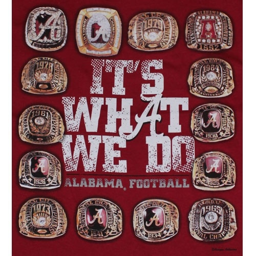 Alabamas National Championship rings Super Bowl rings Pinterest 500x500