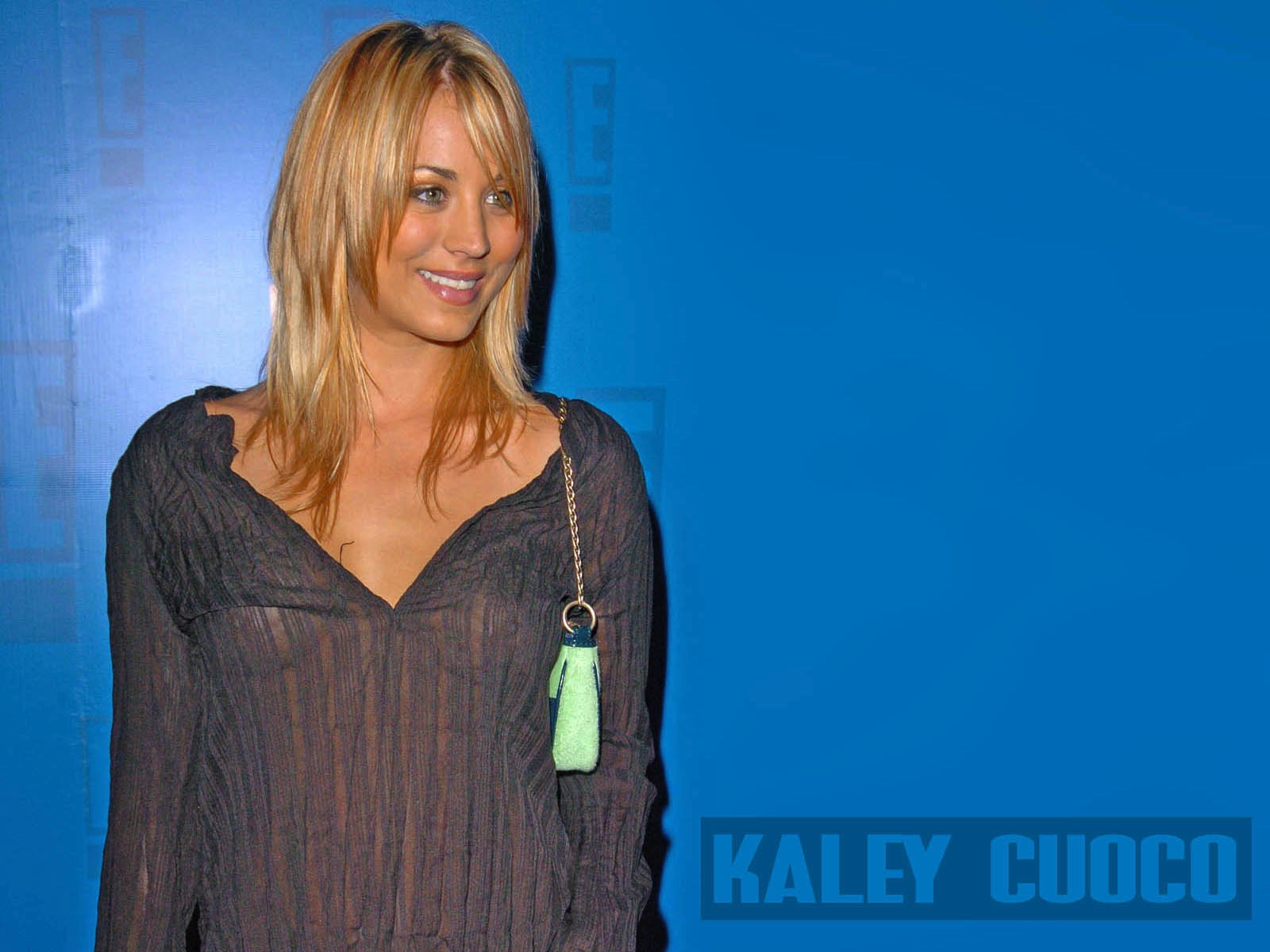 kaley cuoco wallpaper widescreen   Quotekocom 1600x1200