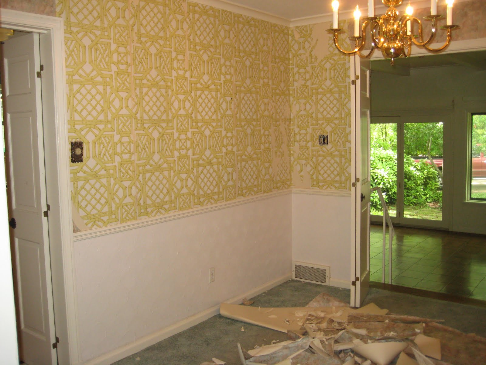 when I posted about it HERE You know when I said the wainscoting 1600x1200