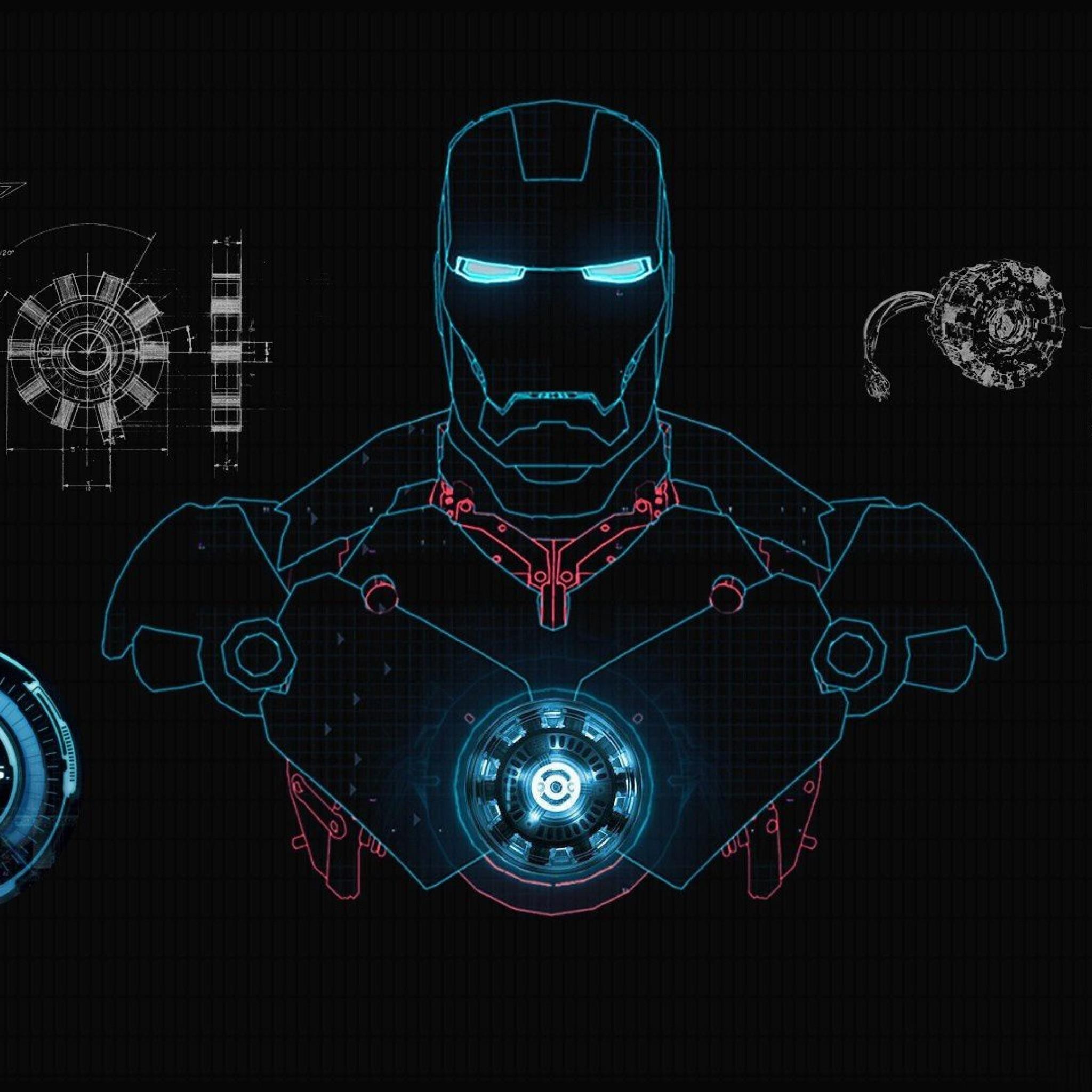 Iron Man Jarvis Wallpaper HD - WallpaperSafari