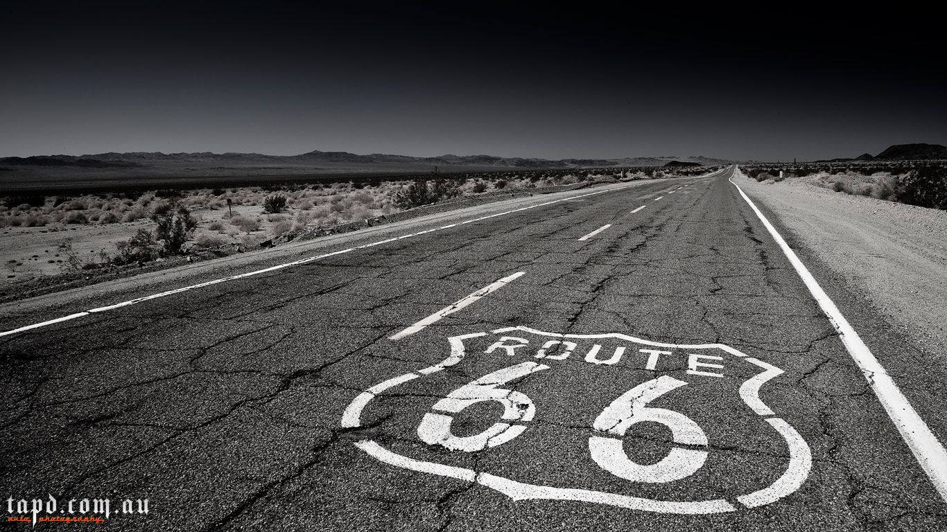 Route 66 Wallpapers 1366x768