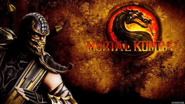 Inside Mortal Kombat   Gallery Wallpaper Scorpion 595x336