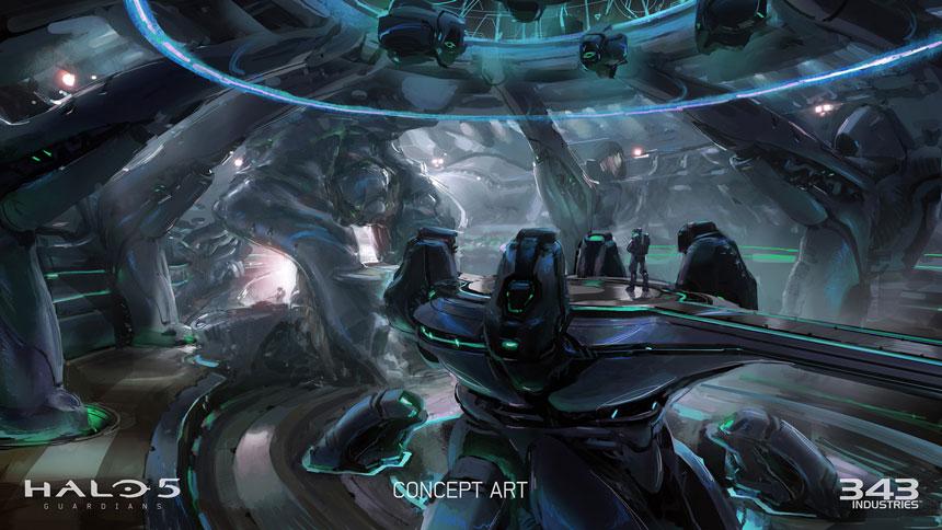 halo 5 guardians multiplayer beta concept ship deckjpg 860x484