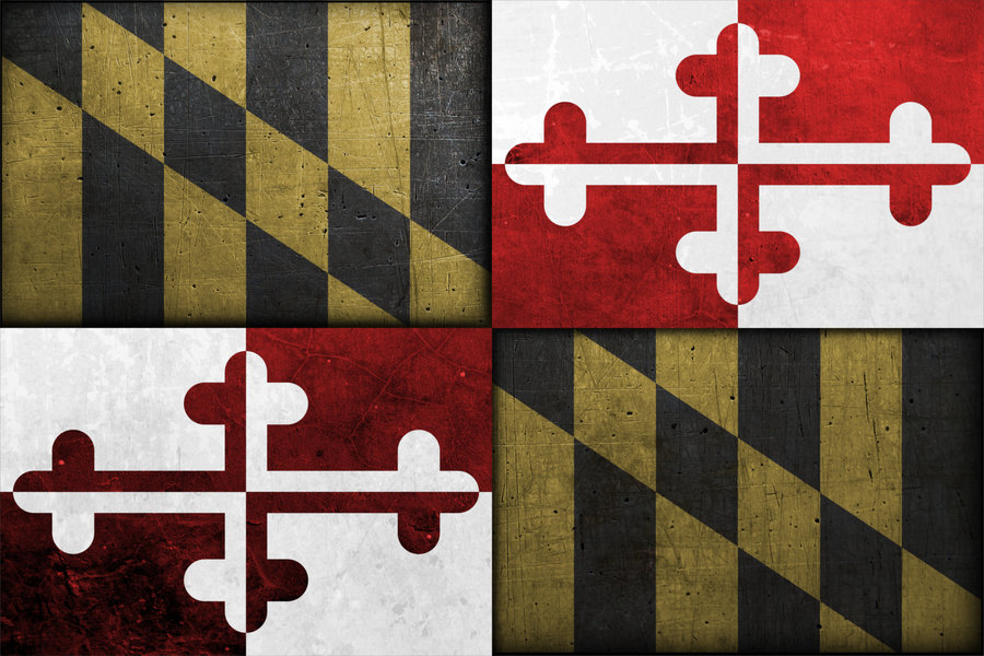 Maryland Flag by 12gaugemage 900x600