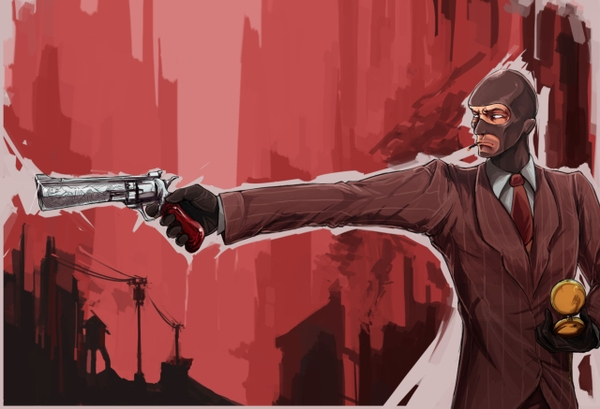 Spy desktop wallpaper wallpapersafari - Tf2 logo wallpaper ...