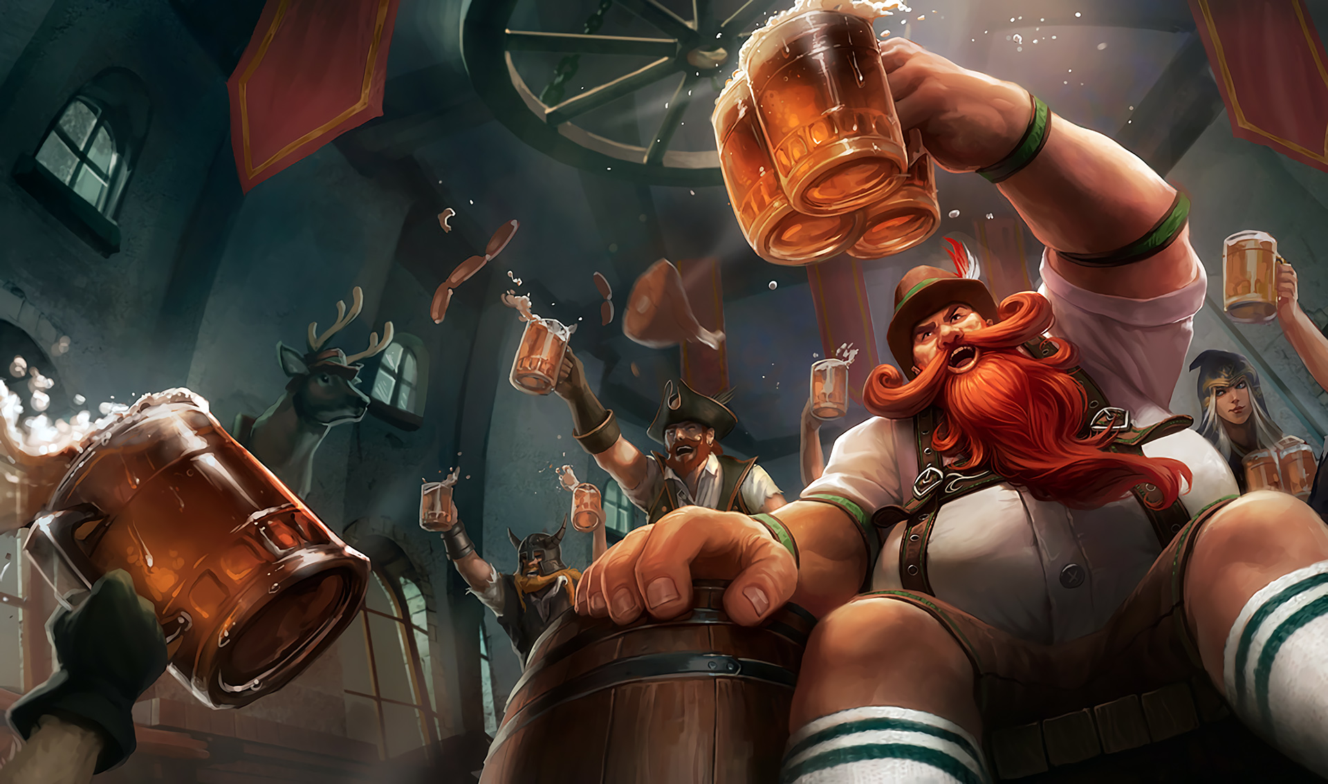 Gragas   LoL Wallpapers HD Wallpapers Artworks for League of 1920x1134