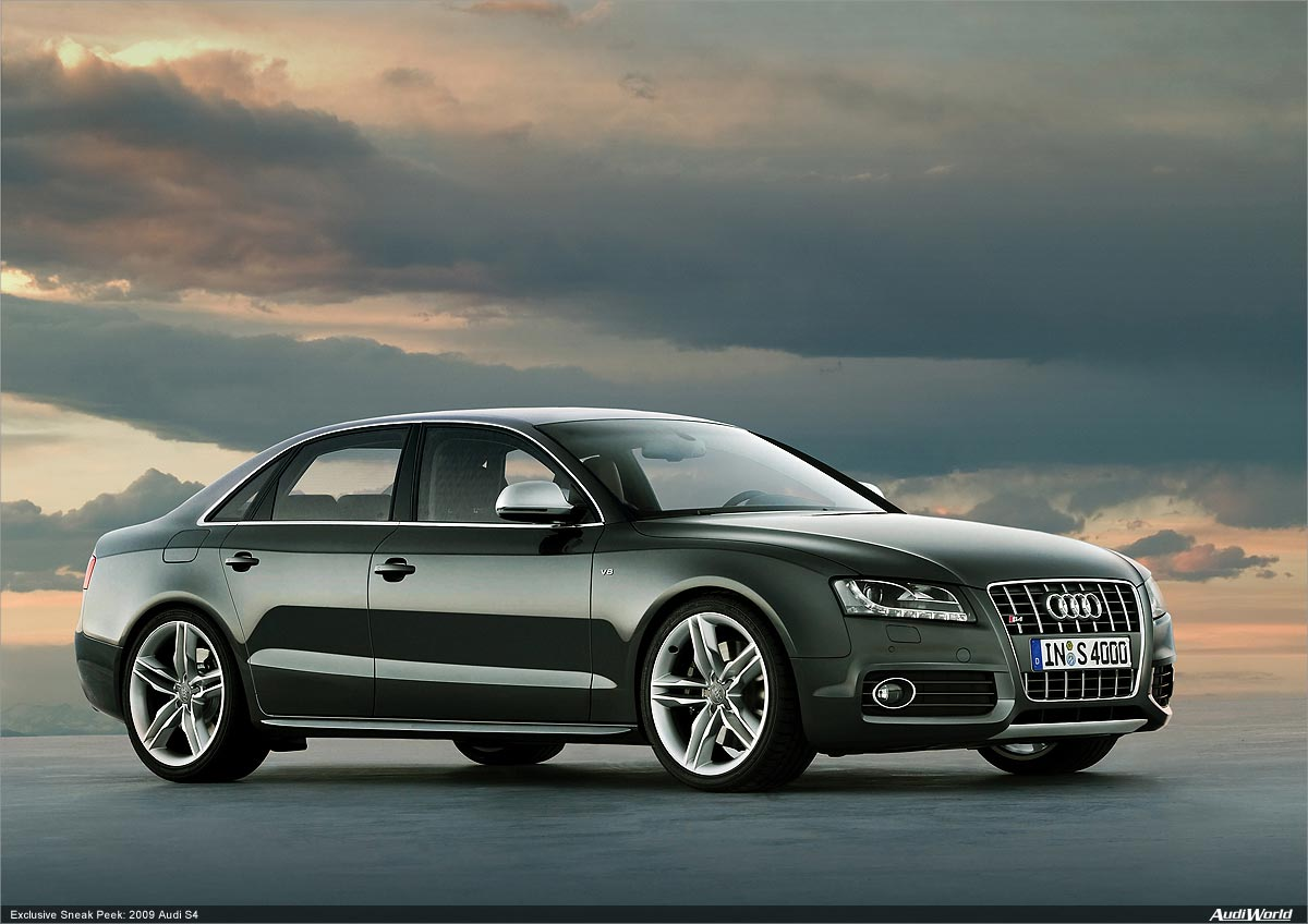 Wallpapers Audi A4 1200x848