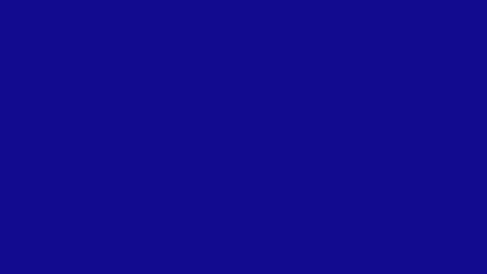 1600x900 Ultramarine Solid Color Background 1600x900