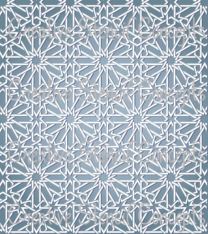 Moroccan Trellis Wallpaper: Moroccan Lattice Wallpaper