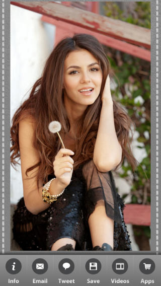 Victoria Justice Wallpapers on the App Store 320x568