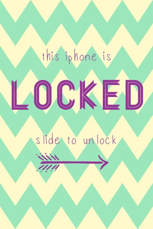 Cute Kawaii Lock Screen Iphone Wallpaper Wallpaper Hd For Android