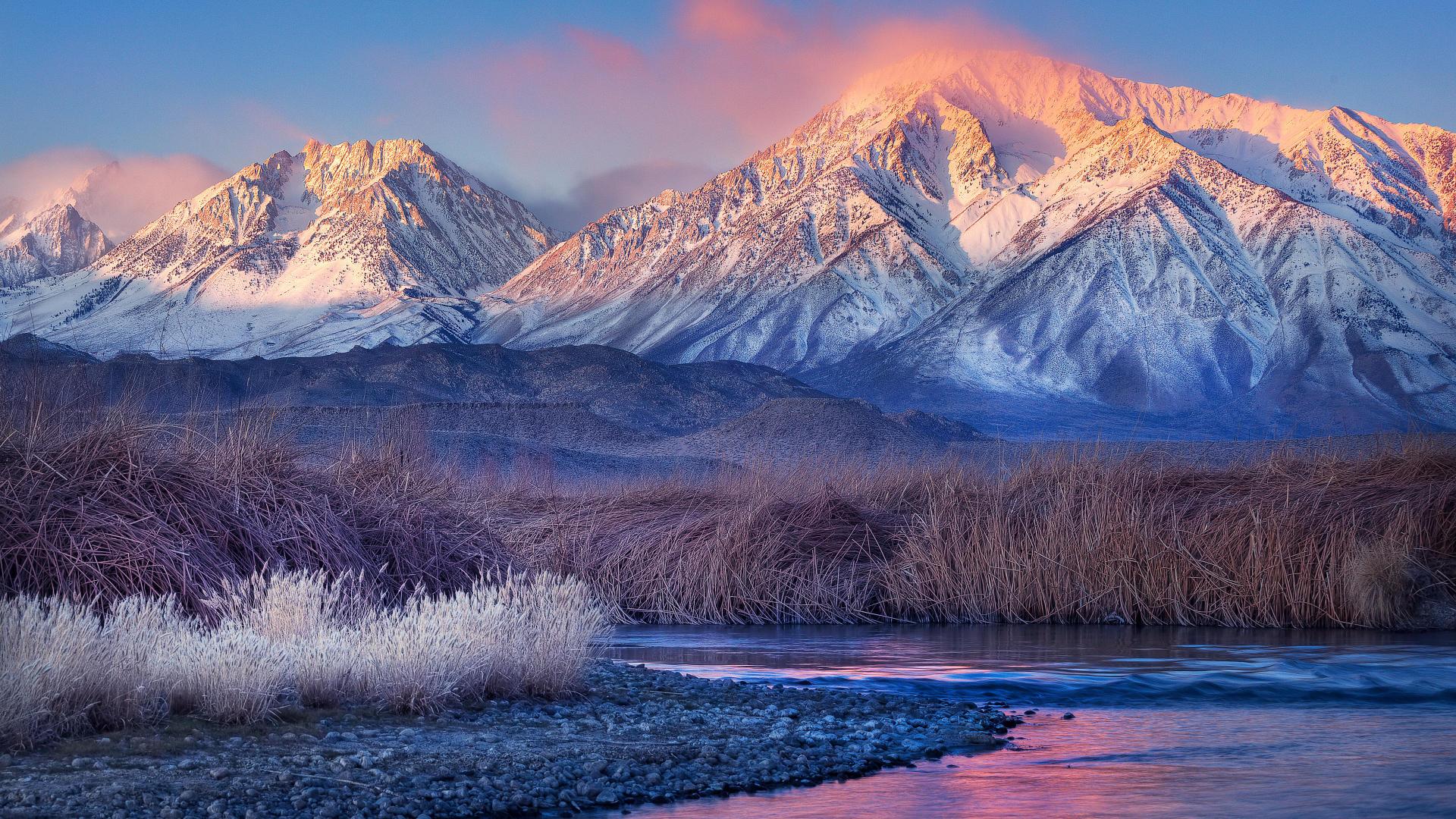 Download Wallpapers E Sfondi Paesaggi Invernali Con Neve 1920x1080