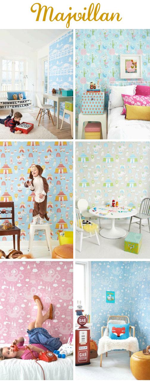 Majvillan Cool Kids Wallpaper   KidStyleFile 504x1274