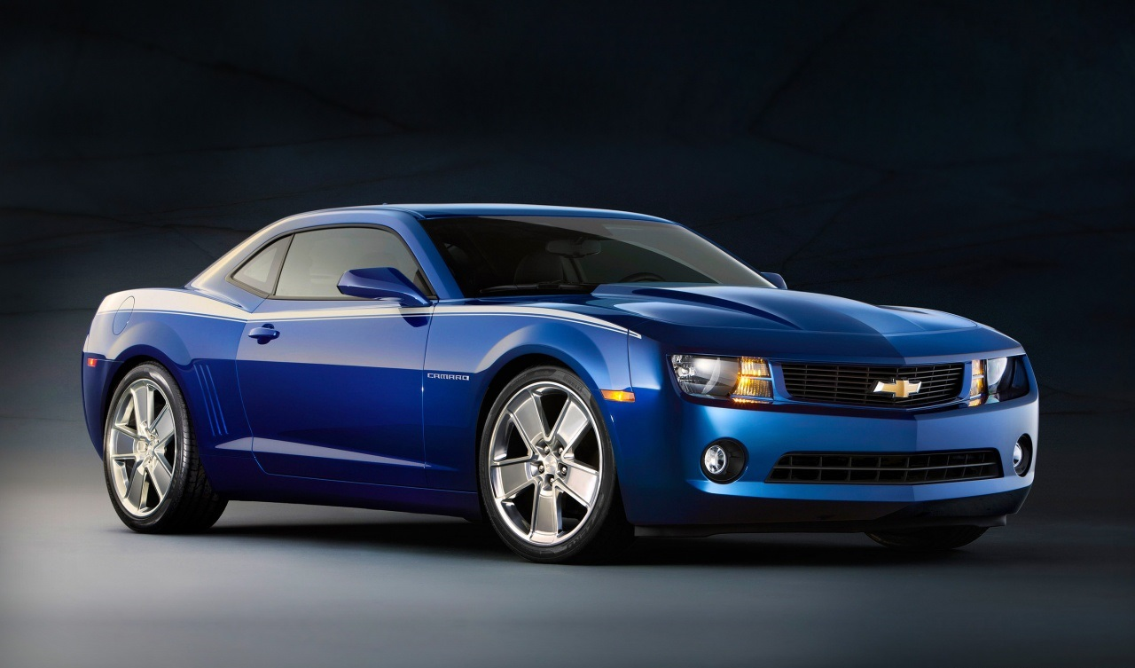 chevrolet camaro blue wallpaper 1280x768 2016 Camaro dot com 1280x753