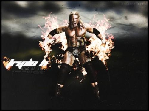 WWE Triple H King of Kings Wallpaper 500x374