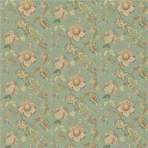 Aqua Jacobean Wallpaper Shipping over 225 miniaturescom 512x512