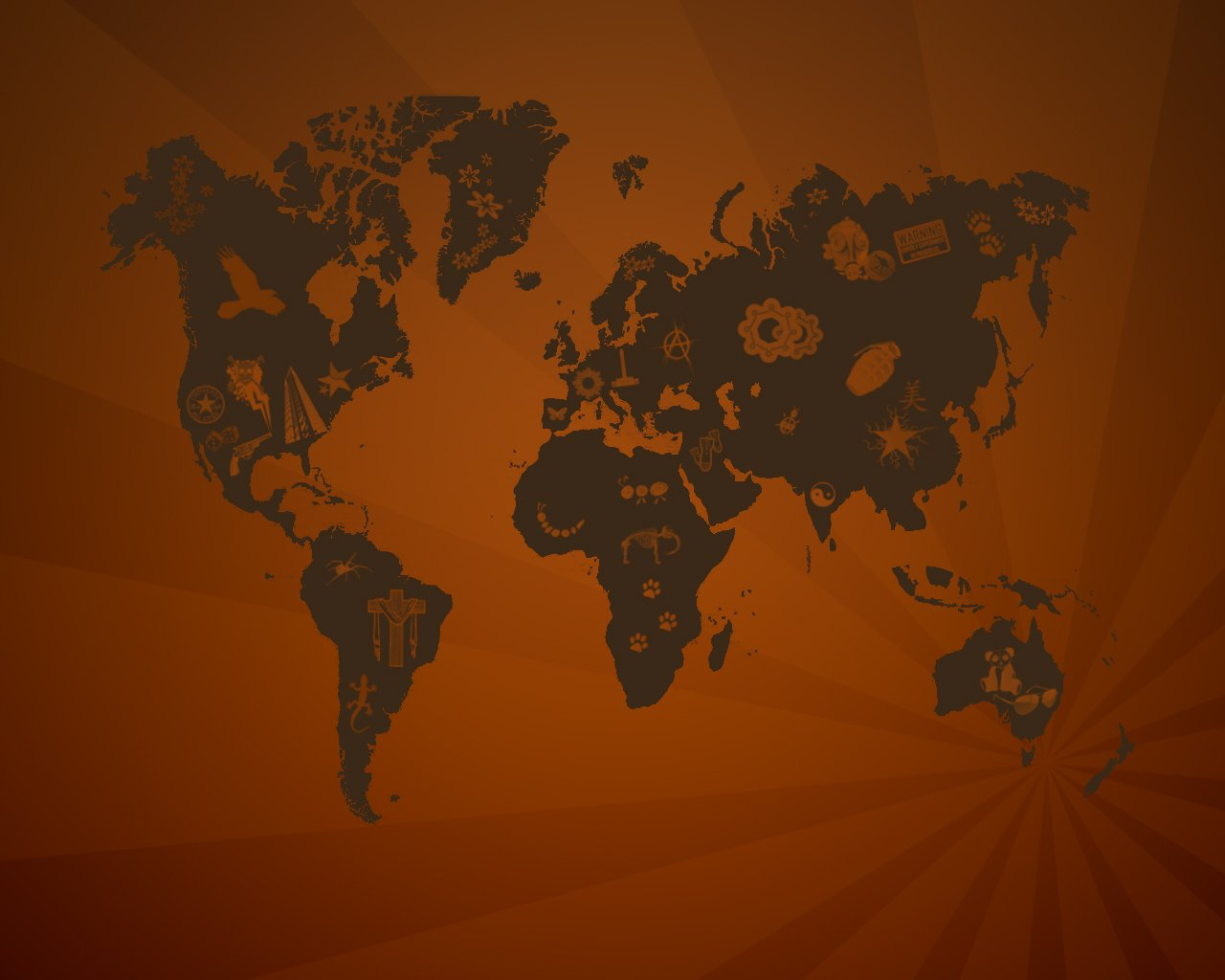 15 Really Cool World Map Wallpapers Blaberize 1280x1024