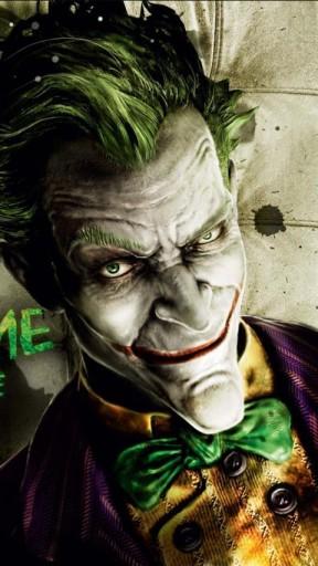 View bigger   Joker   Arkham Asylum Wallpape for Android screenshot 288x512