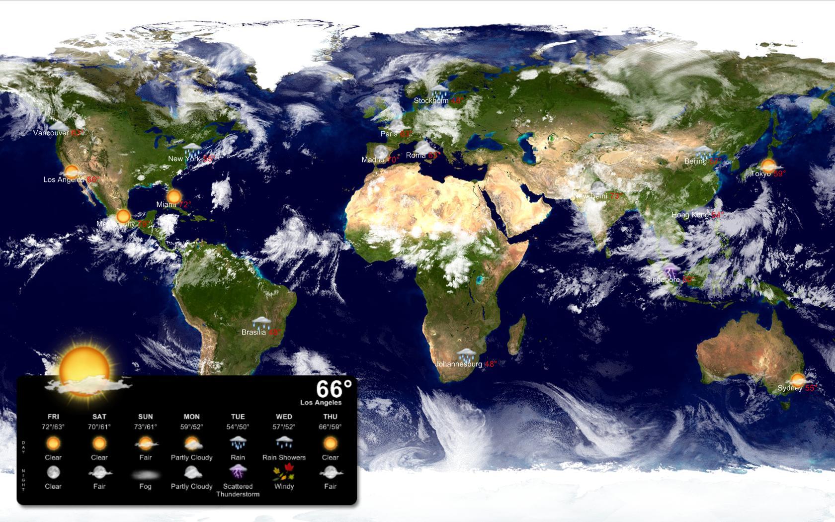 Weather Globe Wallpaper Wallpapersafari