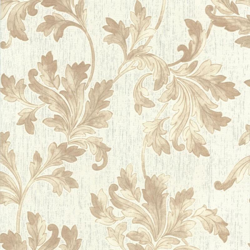 Acanthus White Beige Wallpaper White Wallpaper Wallpaper Online 800x800