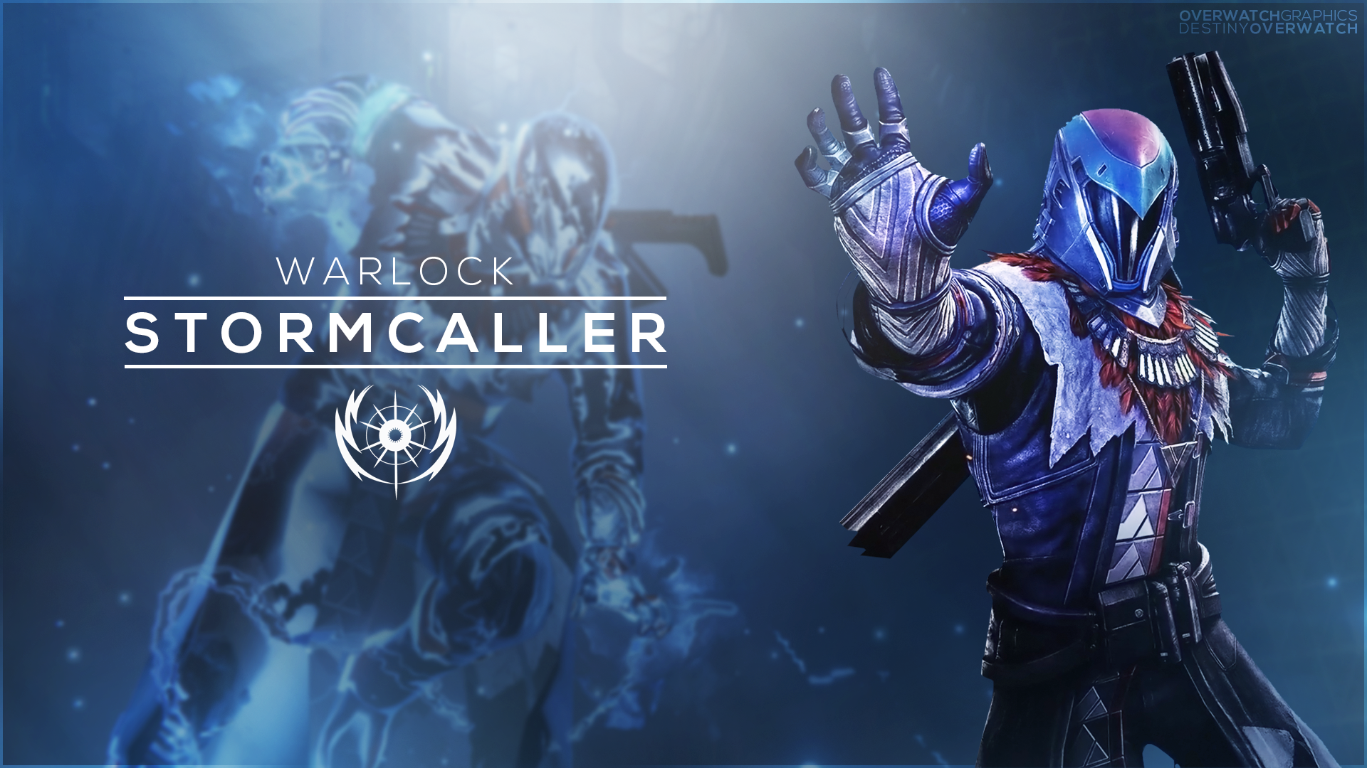 Destiny the Game   Stormcaller Phone Wallpaper by OverwatchGraphics on 1920x1080