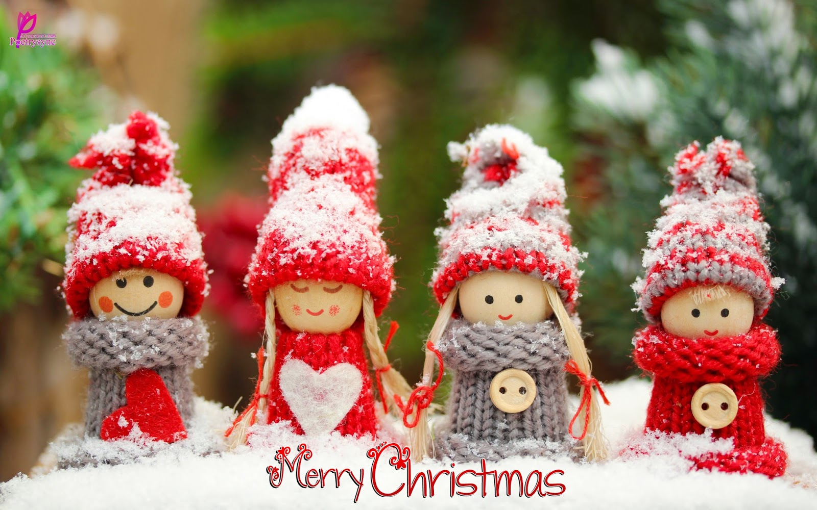 Happy Holidays for Kids Merry Christmas New Year eCard Wallpaper HD 1600x1000