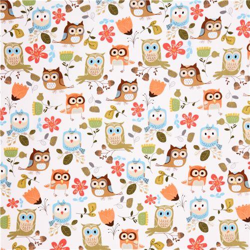 cute fashion girly owl print wallpaper xoxo weit 500x500