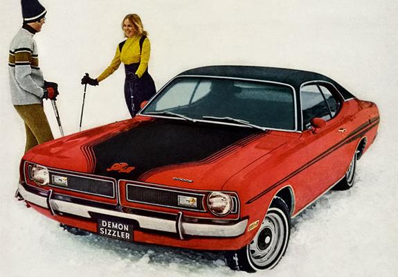 Wallpapers of Dodge Dart Demon Sizzler 1971 575x400