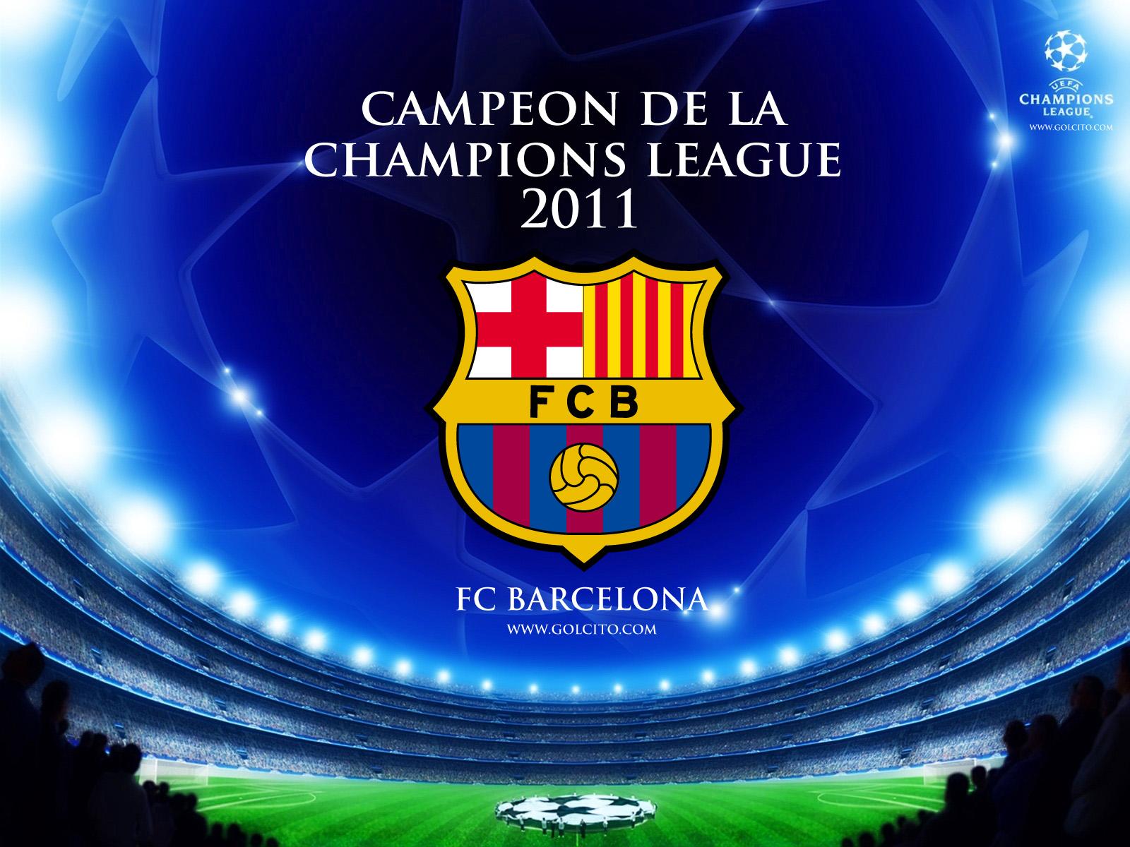 WALLPAPERS DEL CAMPEON DE LA CHAMPIONS LEAGUE 2011   FC BARCELONA 1600x1200