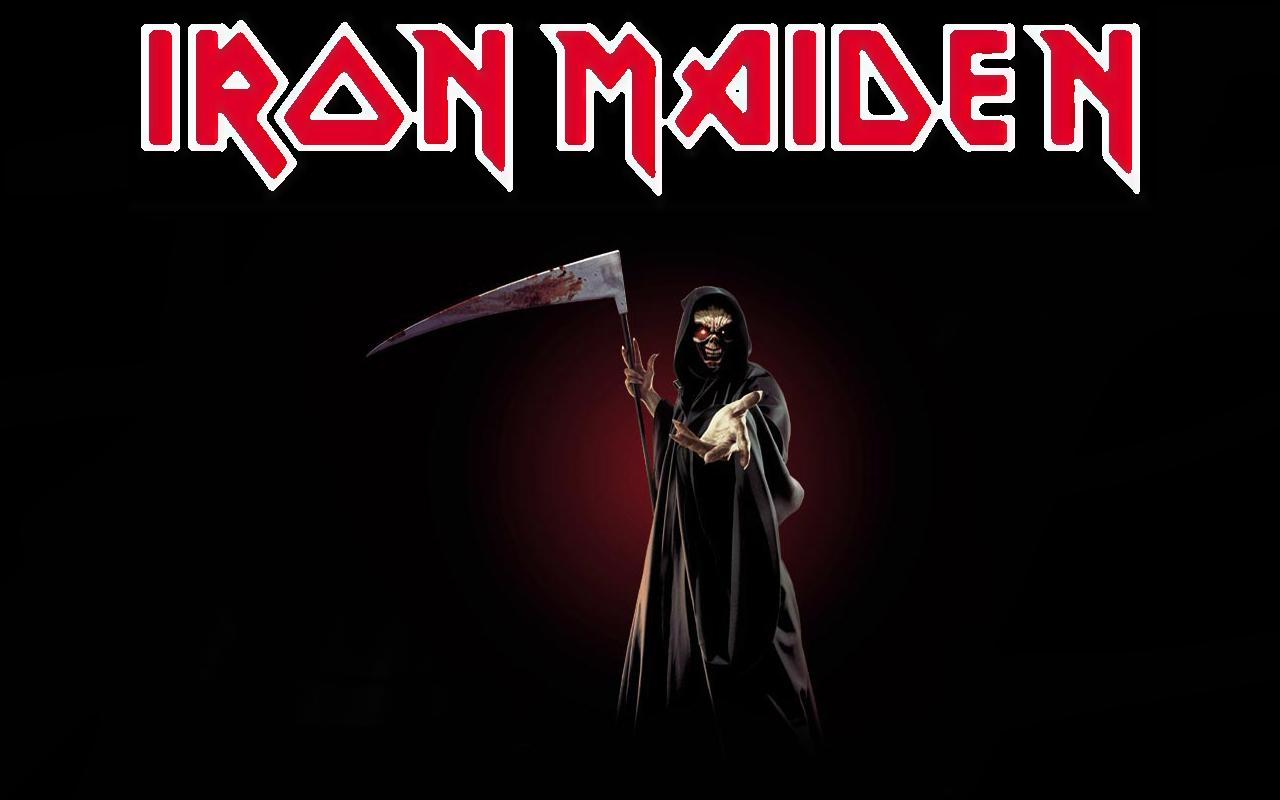 Related Iron Maiden Logo Wallpaper Megadeth Logo Metallica Logo 1280x800