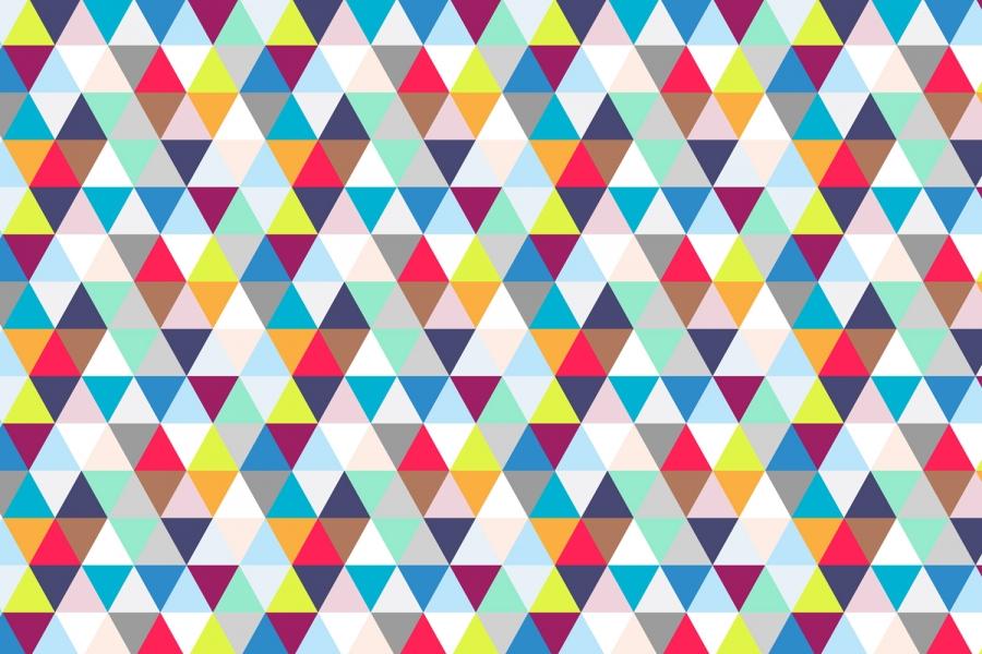 Geometric Triangle Wallpaper - WallpaperSafari
