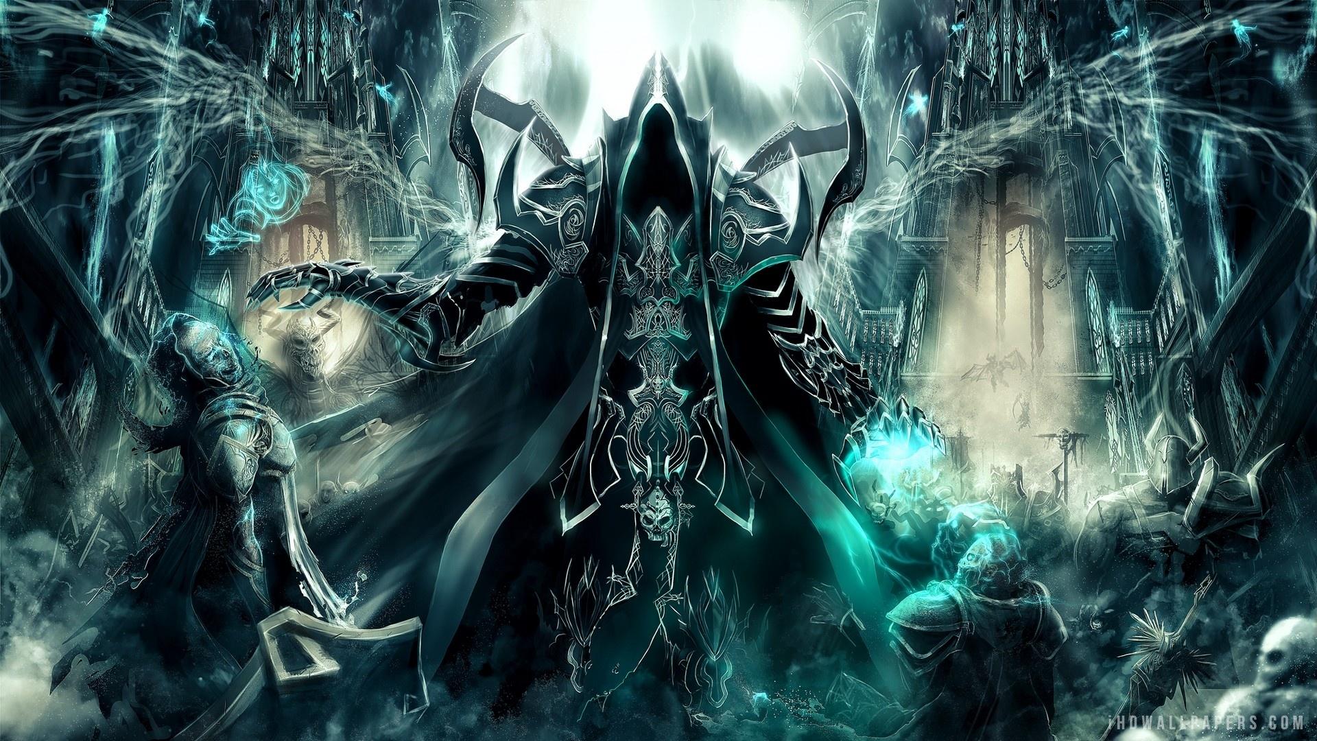 Diablo III Reaper Of Souls Malthael HD Wallpaper IHD Wallpapers 1920x1080