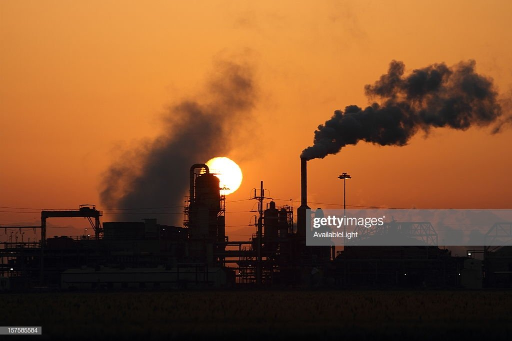 Geothermal Power Plant With Sun Rising In Background Stock Photo 1024x683