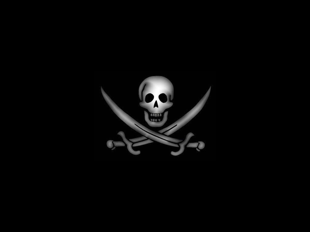 Jolly Roger Flag Wallpaper 1024x768