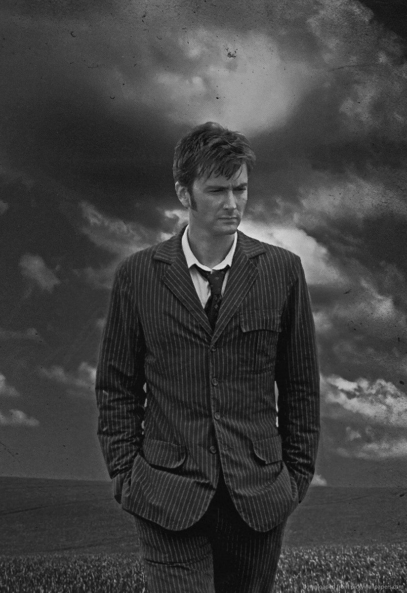 Download David Tennant Doctor Who Screensaver For Amazon Kindle DX 824x1200