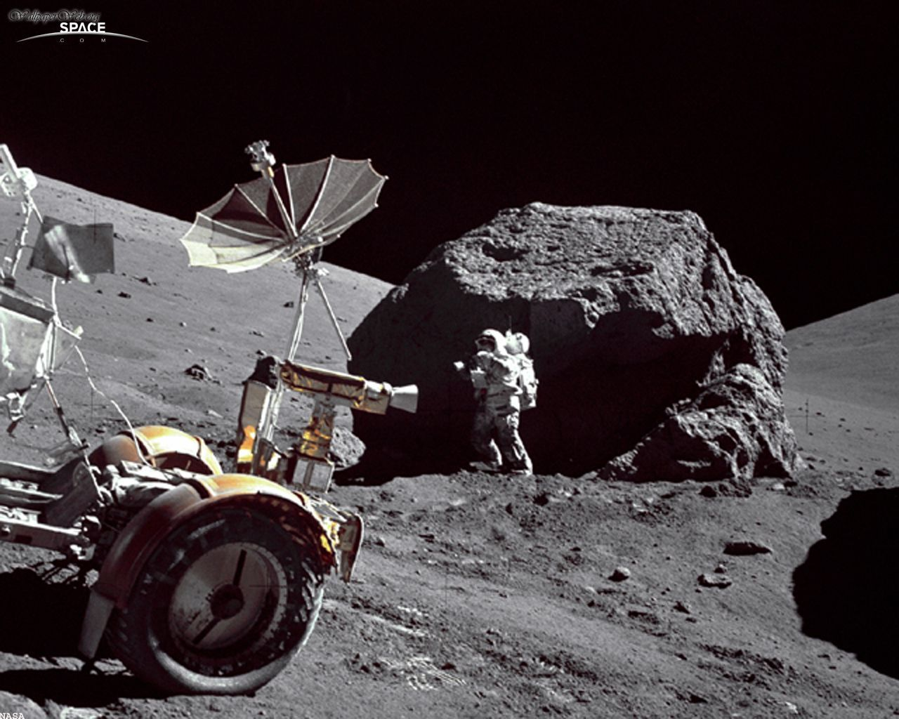 Apollo Moon Wallpaper page 5   Pics about space 1280x1024