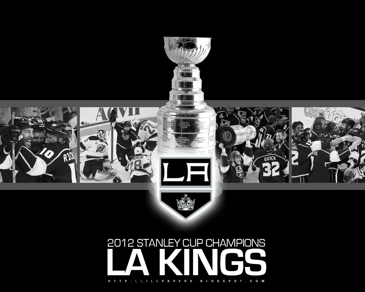 45 La Kings Wallpaper Stanley Cup On Wallpapersafari