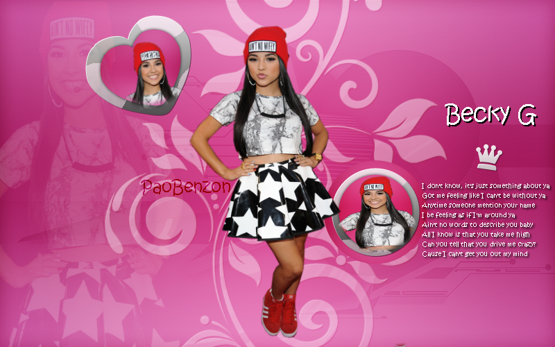 Wallpaper de Becky G by paolaiwideawake 800x500