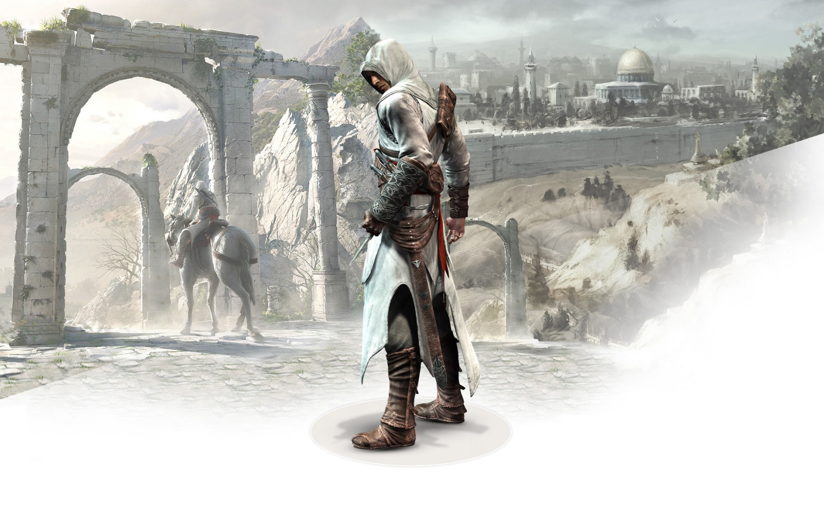 Altair Ibn La Ahad in Assassins Creed Wallpapers HD Wallpapers 1680x1050