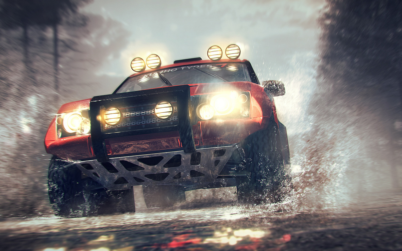 Wallpaper dirt 3 bowler nemesis racing colin mcrae rally games 1280x800
