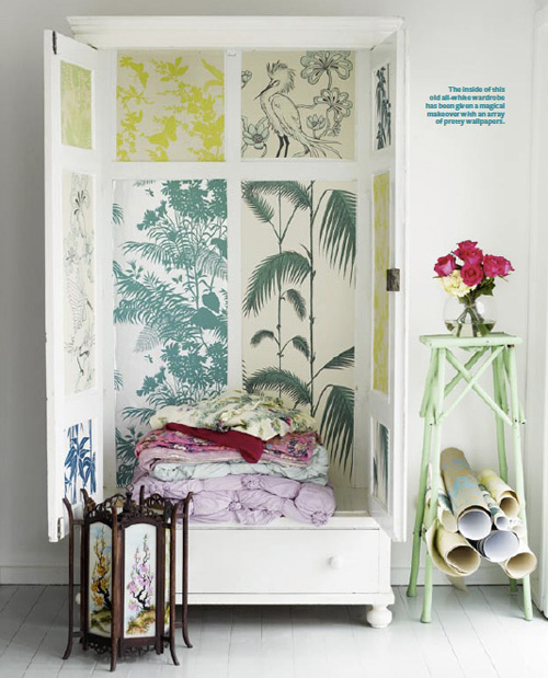 Wallpaper Cabinet by Shannon Fricke decor8 500x619