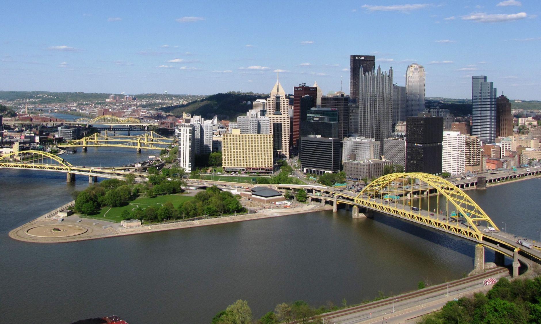 Pittsburgh Desktop Wallpaper Skyline