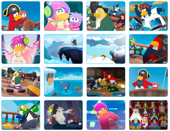 Club Penguin Tons of Brand New Desktop Wallpapers Everything Club 560x431