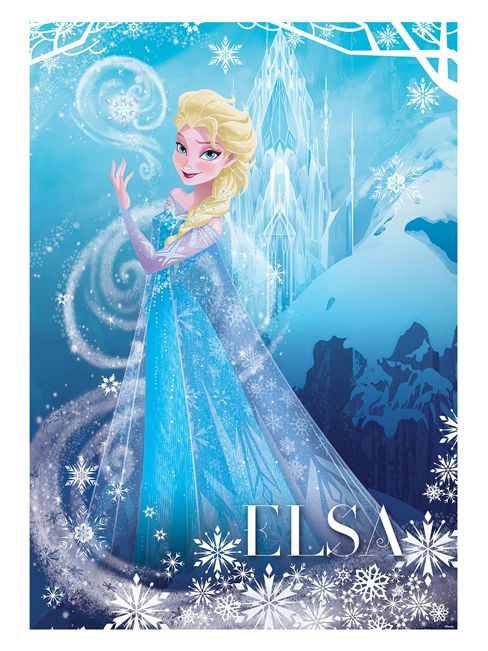 Disney Frozen Elsa Wallpaper Wall Mural 254cm X 184cm 488x651