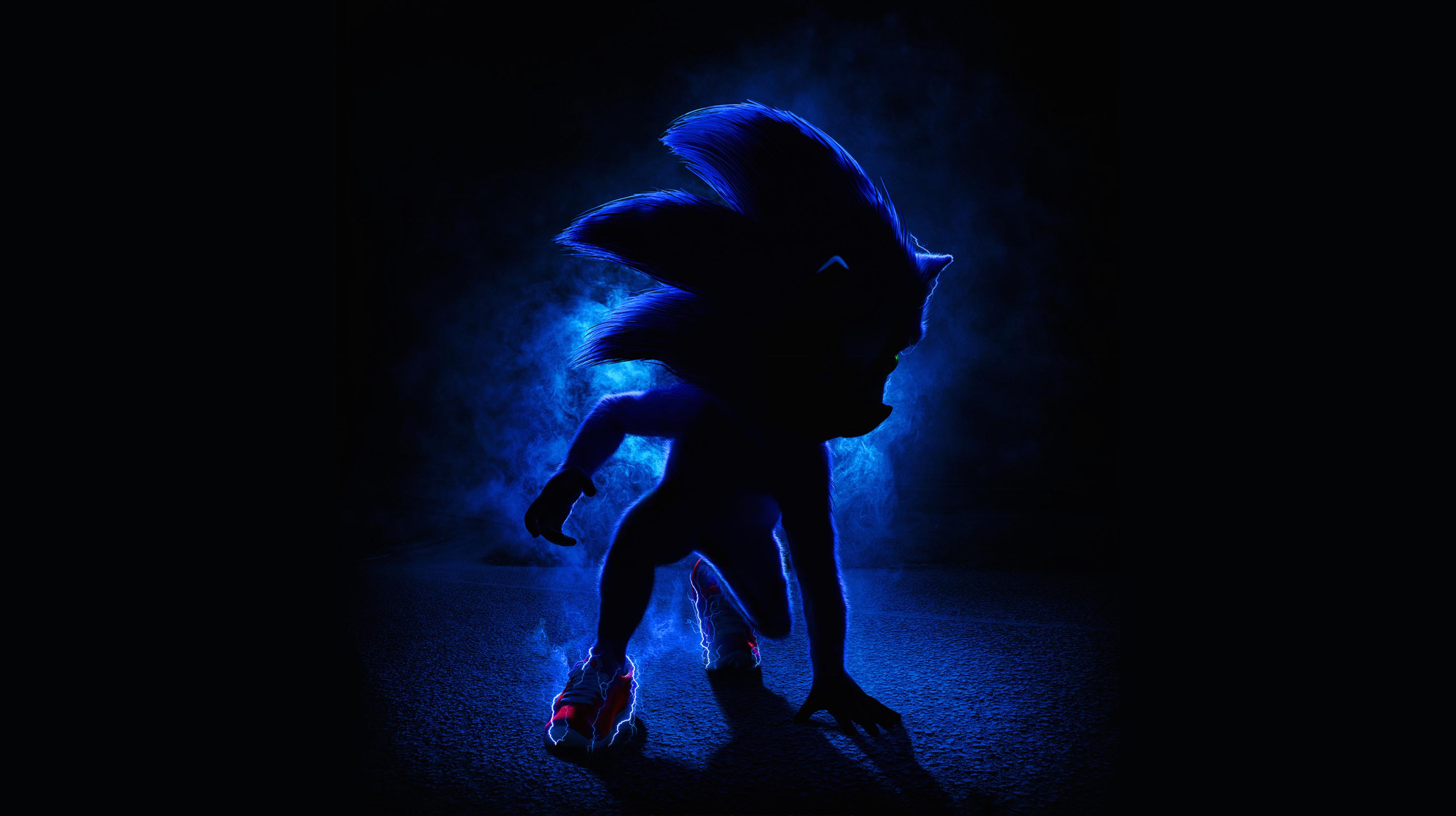 Sonic the Hedgehog 2019 Movie Poster Wallpaper HD Movies 4K 3762x2110
