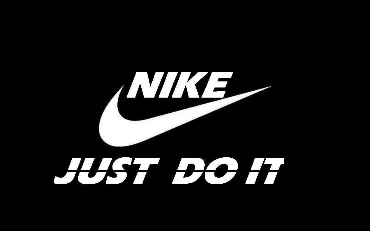 Nike Logo Just Do It Football