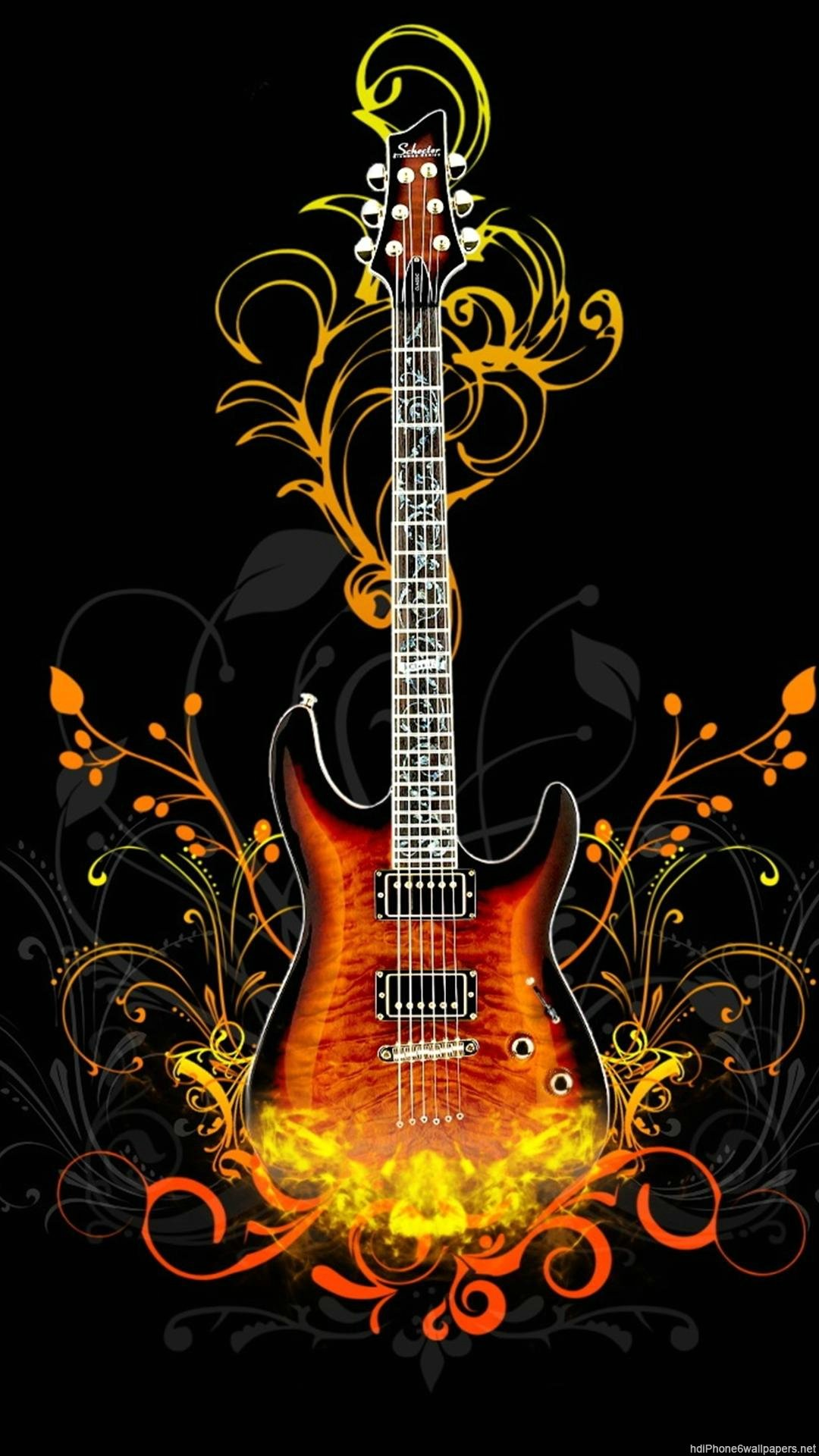 guitar iphone wallpaper wallpapersafari