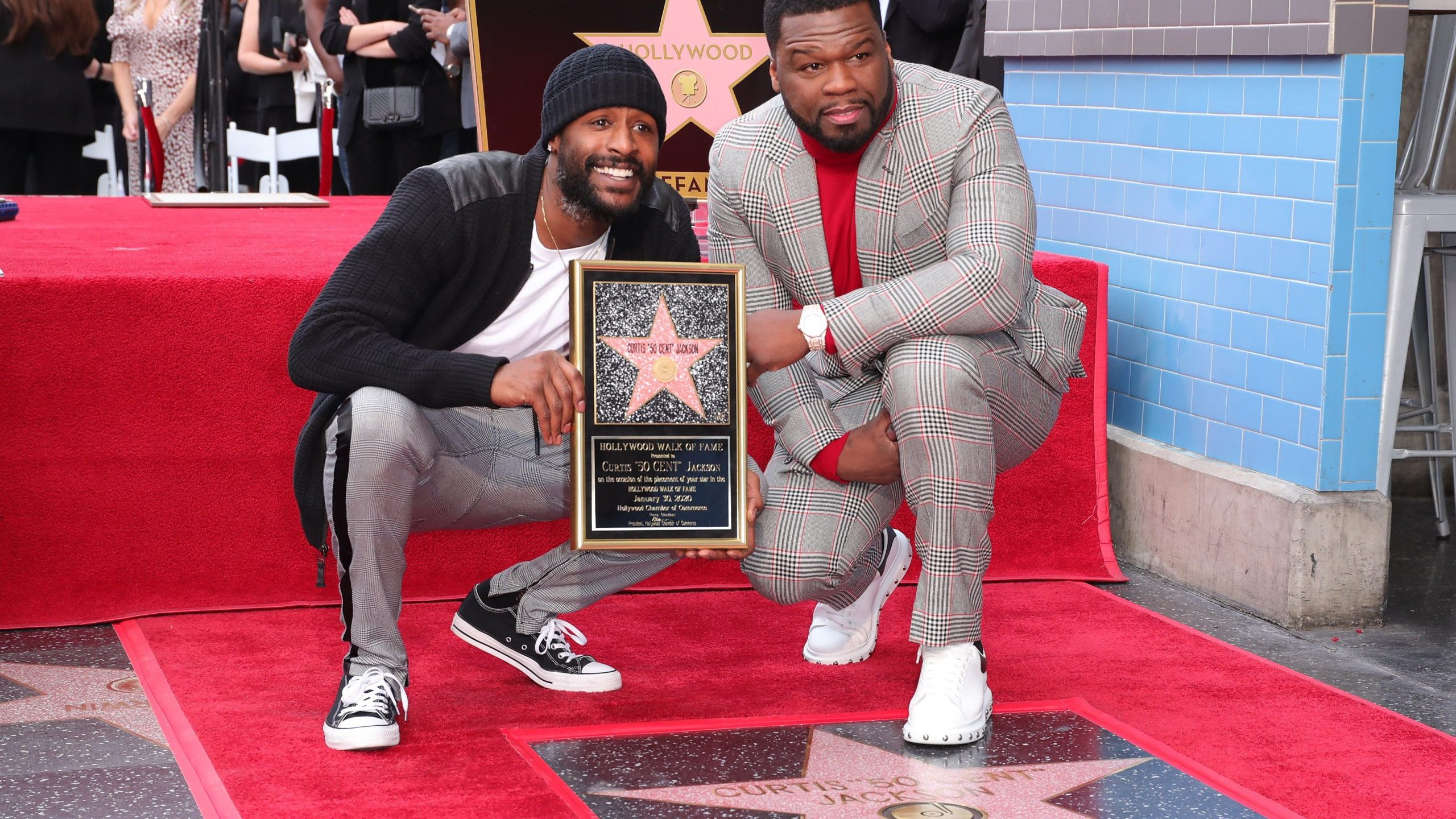 50 Cent receives Hollywood Walk of Fame star fox5sandiegocom 2560x1440