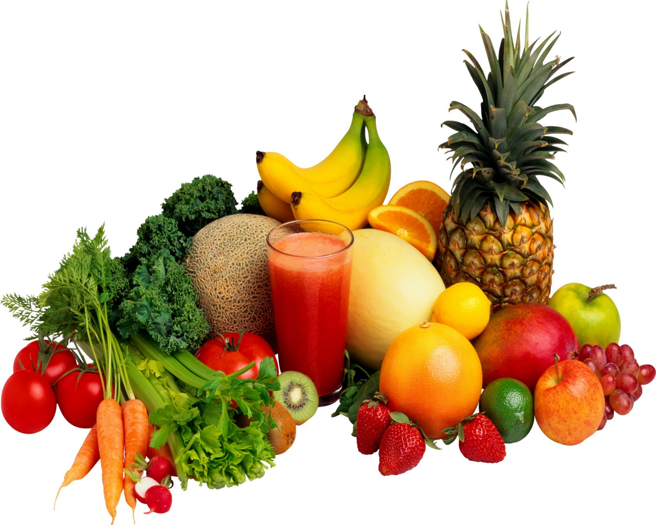 Pics and Wallpaper Fruits and Vegetables 1280x1024